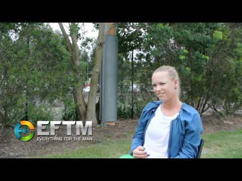 Caroline Wozniacki exclusive interview
