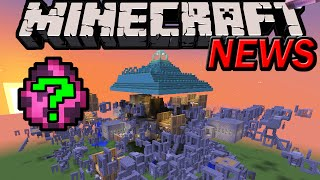 Minecraft 1.9 News: NEW Dungeon, Mobs & Blocks! Mystery Pink Structure, Block Rotating Combat Update
