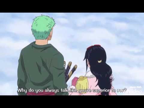 Zoro verbally bitch slaps Tashigi