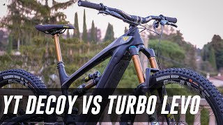 YT Decoy OR Specialized Turbo Levo? HEAD TO HEAD REVIEW!!