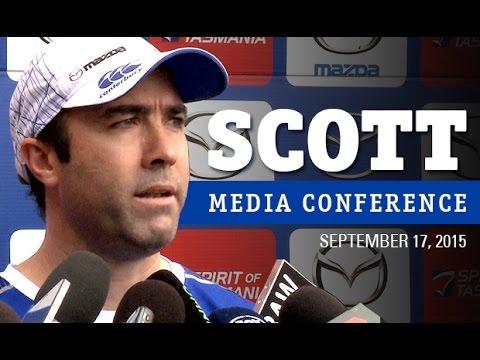September 17, 2015 - Brad Scott media conference
