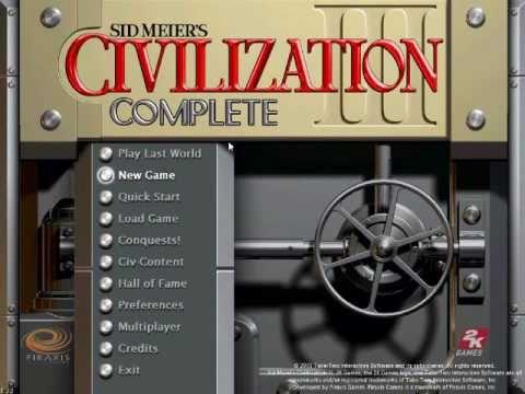 Let's play civ 3 episode 1: The Basics