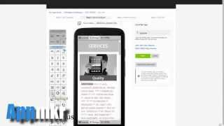 video How to link to an internal page in your Appmkr App www.Appmkr.us App Making Kit & Repository.