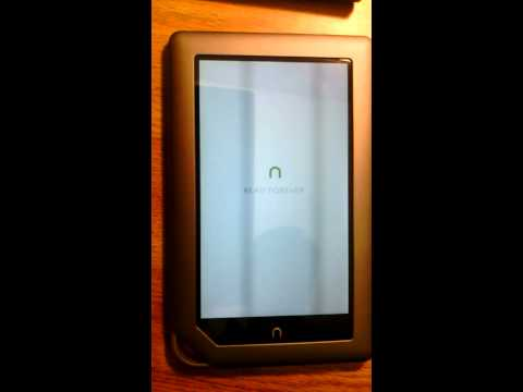 Nook Tablet 8GB Rooted w/ Android Market