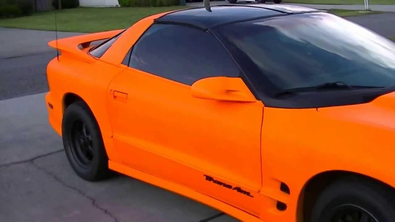 Blaze Orange Auto Paint