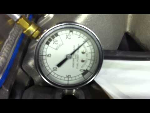 Racing Engine Vacuum Pump/ Crankcase Leak Down Test