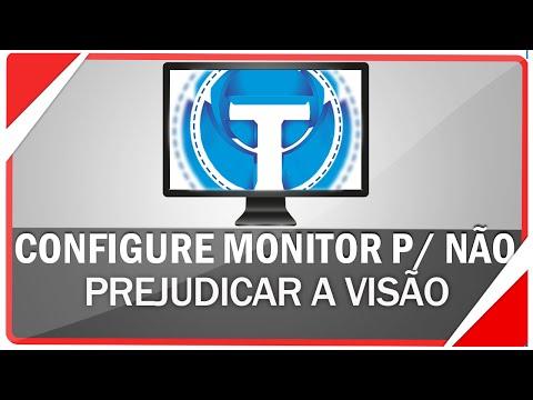 Como configurar o monitor para não prejudicar sua visão