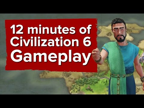 12 minutes of Civilization 6 gameplay (narrated by SEAN BEAN)