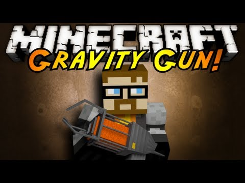 Minecraft Mod Showcase : GRAVITY GUN!