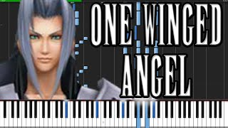 One Winged Angel - Final Fantasy VII [Piano Tutorial] (Synthesia)