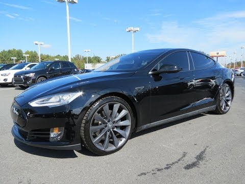 2012/2013 Tesla Model S 85kWh Performance Start Up. Drive. and In Depth Review
