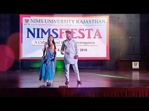 NIMS FIESTA 2018 : Mr & Miss Nims • Fashion Show • Ramp Walk • Nims University
