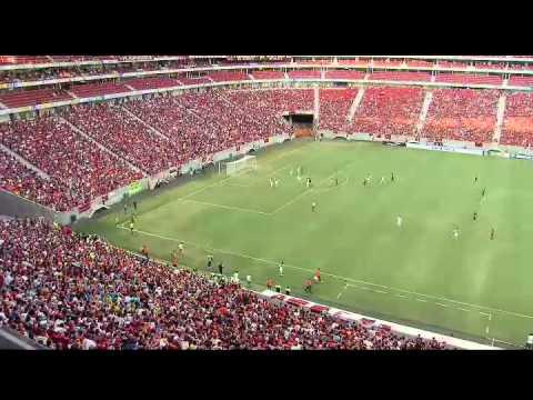Em Brasília, mais de 20 mil torcedores vão ao estágio Mané Garrincha, para ver jogo do Flamengo cont