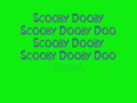 A Pup Named Scooby Doo with lyrics
