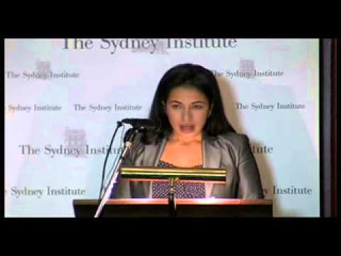 Lydia Khalil at The Sydney Institute -