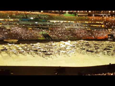 Cerimonia de abertura da Olimpiadas Rio 2016. Parte 01