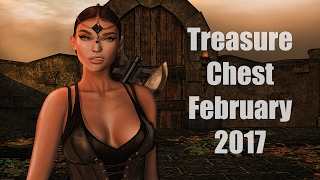 Treasure Chest - February 2017 - Unboxing Video - Second Life Fantasy Subscription Box
