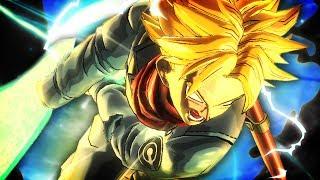 Sword of Hope & SSJ RAGE! Official SSJ Rage Trunks PLAYABLE Gameplay | Dragon Ball Xenoverse 2 DLC 4