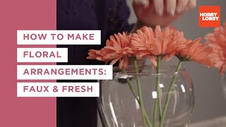 Floral Arrangements and Tools 101