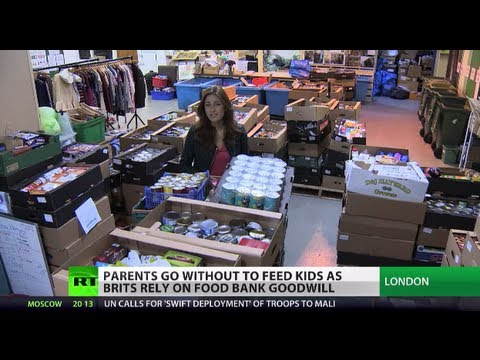 Hidden Hunger: Kids in UK rely on food banks