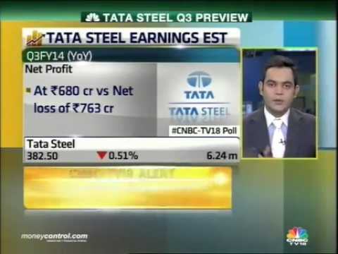 Tata Steel likely to post Q3 profit at Rs 680 cr: Poll