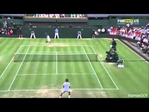 Lukas Rosol vs Rafael Nadal Wimbledon 2012 *