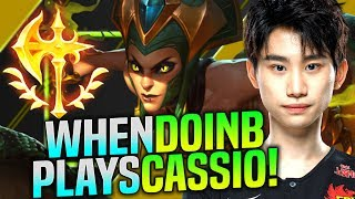 This is Why DoinB is Insane! - FPX DoinB Plays Cassiopeia vs Syndra Mid! | Preseason 2020 [9.23]