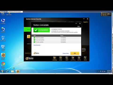 Norton Internet Security 2012 Removal Tests - Part1