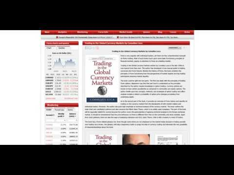 The best forex books Trading in the Global Currency Markets by Cornelius Luca