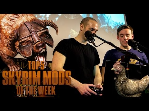 Live in London! - Top 5 Skyrim Mods of the Week