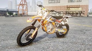 Grand Theft Auto IV - KTM 450 (MX GP) Stunning #Gta IV