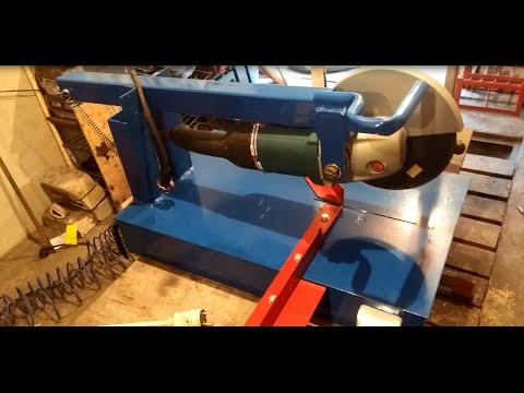 Как сделать маятниковую пилу по металлу