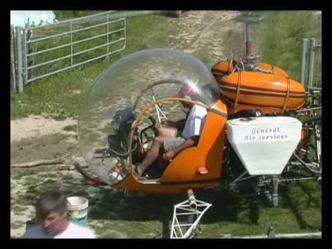 traitement par helicoptere en camargue sur blé 2008