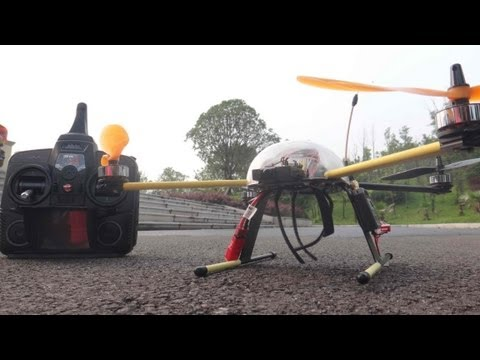 Affordable All in one FPV Quadcopter with HD Recording