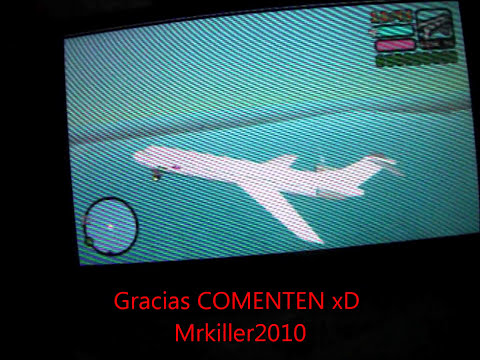 Vice city Como subir a un Avion PSP