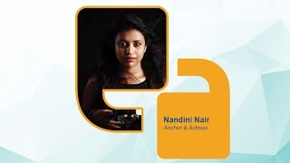 Nandini Nair (Anchor and Actress) - Federal Bank Speak For India: Kerala Edition 2016