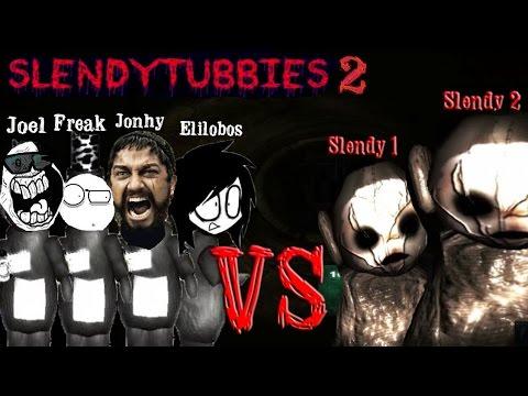 media slendytubbies juego multiplayer co op