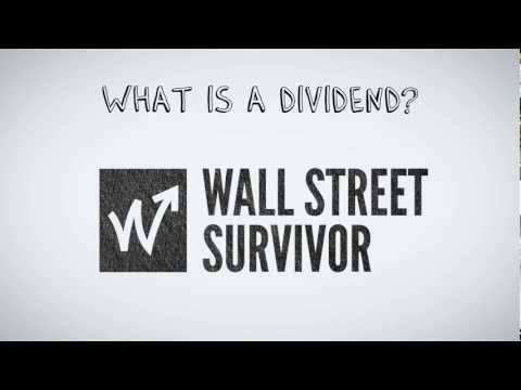 What are Dividends | by Wall Street Survivor