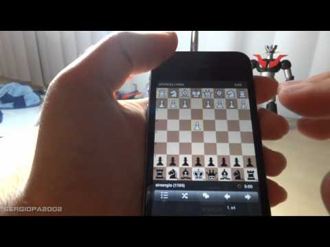 iPhone free Chess Game App: Chess.com very cool and free live chess game application review
