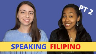 Americans Try Speaking Filipino! Pt 2