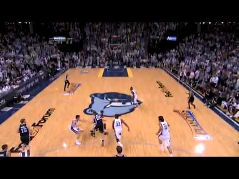 NBA Playoffs 2011: SA Spurs Vs Memphis Grizzlies Game 6 Highlights Upset By Grzz.