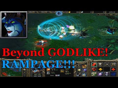 DOTA 1 - Queen of Pain Beyond GODLIKE + RAMPAGE (I Promised)