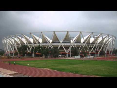 Jawaharlal Nehru Stadium Metro Station Jawaharlal Nehru Stadium