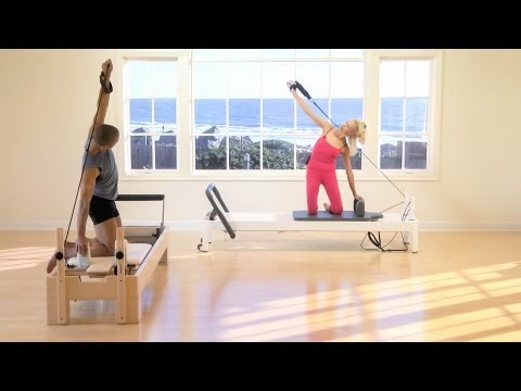 Elizabeth Larkam Pilates Reformer Workout