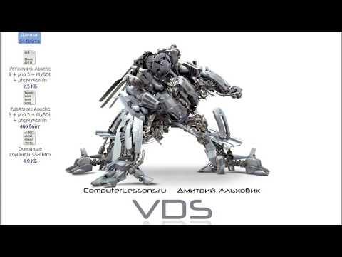 4. Уроки VDS. Первые шаги в управлении сервером на tubethe.com