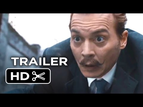 Mortdecai Official Trailer #1 (2015) - Johnny Depp. Gwyneth Paltrow Movie HD