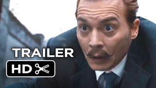 Mortdecai Official Trailer #1 (2015) - Johnny Depp, Gwyneth Paltrow Movie HD