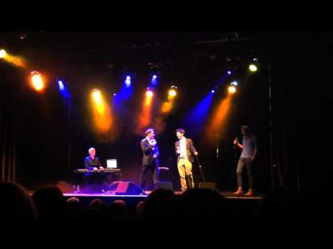 Paul Byrom, Damian McGinty, Cameron Mitchell sing Michael Buble