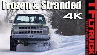 TFL Misadventure: Big Green, Big Snow, Big Trouble!