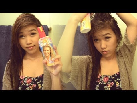 DIY Hair Lightener! (Hydrogen Peroxide)